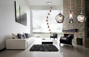 Lampy wiszące – sposób na modne wnętrza