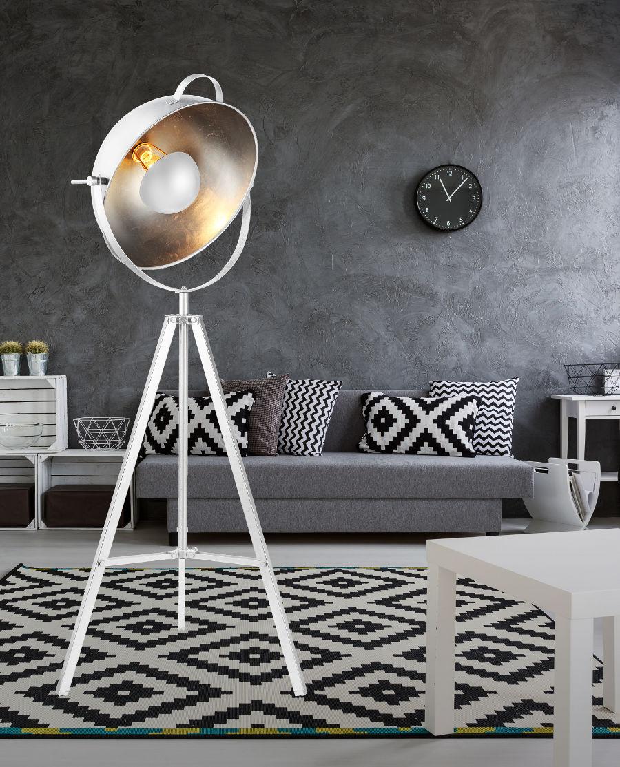 Nowoczesne lampy podłogowe – modne i funkcjonalne oświetlenie